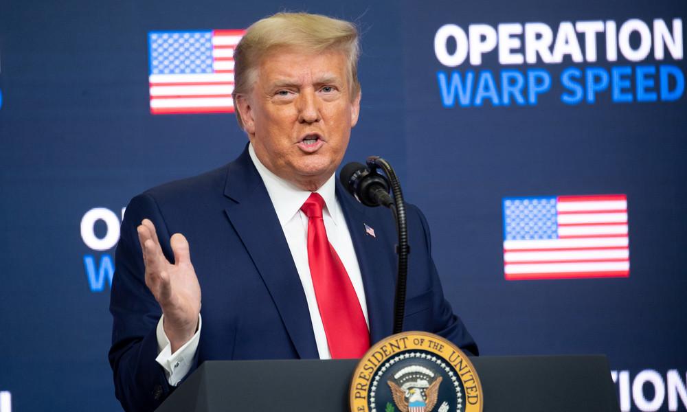 US-Medien kündigen Corona-Vorzugsimpfung für Angehörige des Weißen Hauses an – Trump dementiert