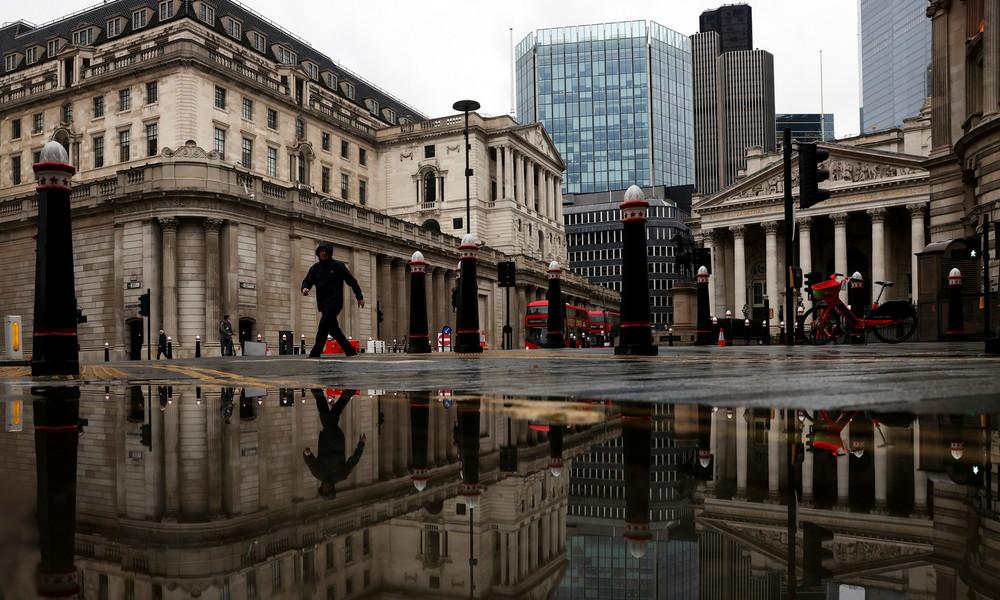 Bank of England warnt vor möglichen Störungen des britischen Finanzsystems nach dem Brexit