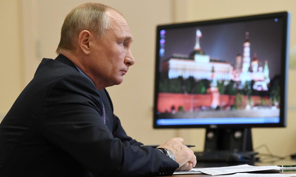 """Kreml äußert sich zu Gerüchten über angeblichen """"Corona-Bunker"""" von Wladimir Putin"""