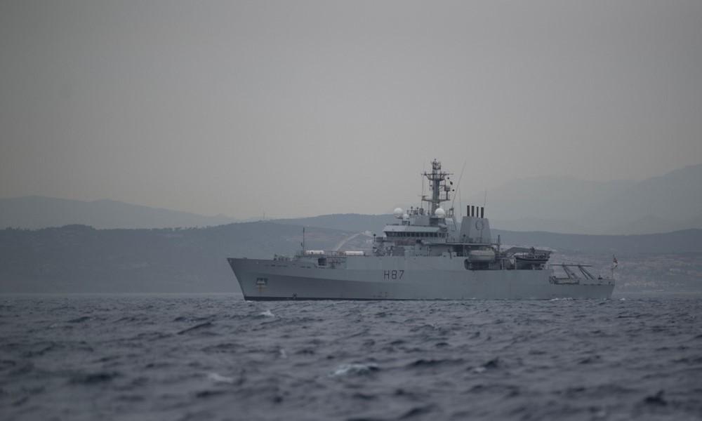 Bei hartem Brexit: Marine soll britische Gewässer gegen EU-Fischerboote schützen