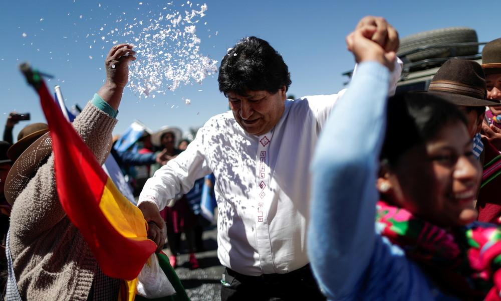 Richterin stellt Ermittlungen gegen Evo Morales wegen angeblichen Wahlbetrugs in Bolivien ein