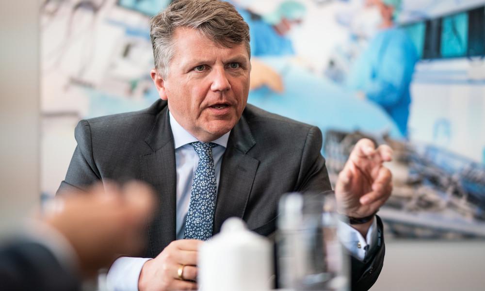 """""""Wir stehen nicht vor Kollaps"""" - Klinikbetreiber Fresenius warnt vor Fokus auf Intensivbetten"""