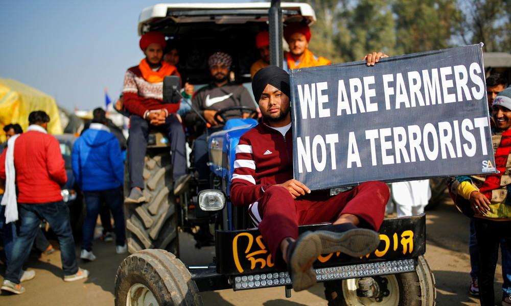 Generalstreik in Indien: Bauern kämpfen gegen Deregulierung