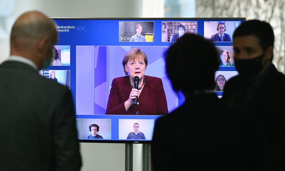"""Merkel attackiert """"Querdenker"""" heftig: """"Angriff auf unsere Lebensweise"""""""