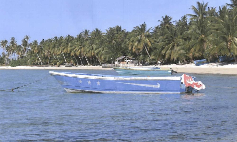 Geisterboot mit über 600 Kilogramm Kokain nach jahrelangem Driften bei den Marshallinseln gestrandet