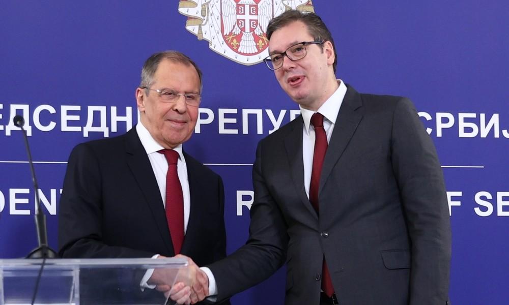 """""""Unsere Werte verteidigen"""": Lawrow betont Eckpfeiler der russisch-serbischen Freundschaft"""