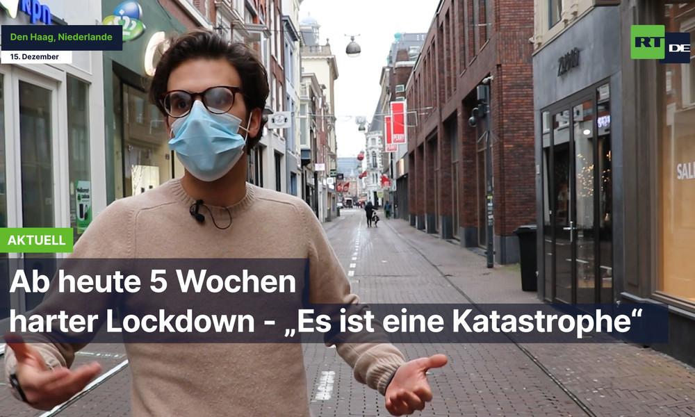 """Den Haag: """"Eine Katastrophe"""" – 5 Wochen harter Lockdown"""