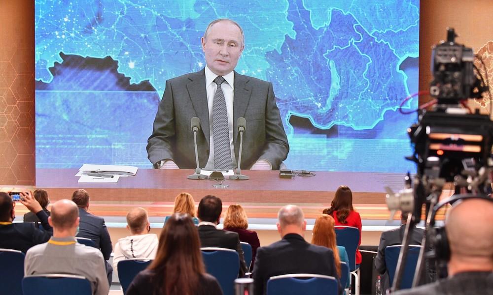 LIVE: Wladimir Putin antwortet auf Fragen von Journalisten und Bürgern (Deutsch)