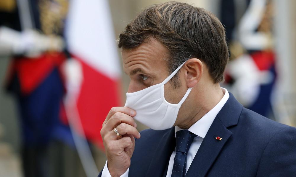 Frankreichs Staatschef Emmanuel Macron positiv auf SARS-CoV-2 getestet