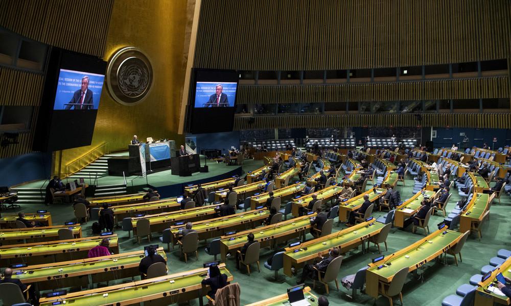 USA und Ukraine lehnen UN-Resolution gegen Glorifizierung des Nazismus ab – Deutschland enthält sich