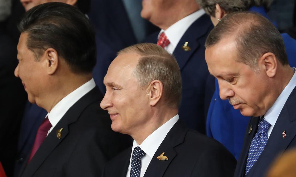 """Putin über Beziehungen zu seinen Amtskollegen: """"Was zählt, sind nationale Interessen"""""""