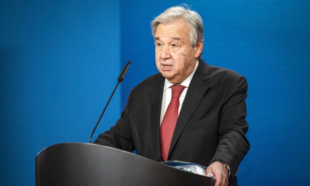 LIVE: UN-Generalsekretär Guterres spricht im Deutschen Bundestag