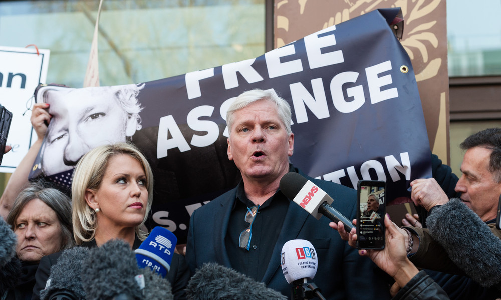 """WikiLeaks-Chefredakteur: Warnung von Assange an USA von 2011 """"überwältigender Unschuldsbeweis"""""""
