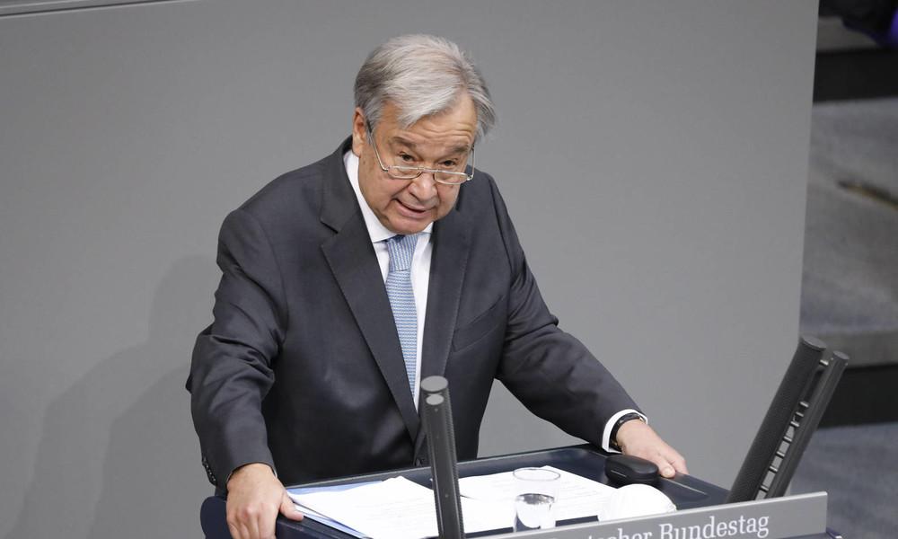 """""""Friedensmacht"""" – UN-Generalsekretär Guterres über Deutschlands Rolle in der Welt"""