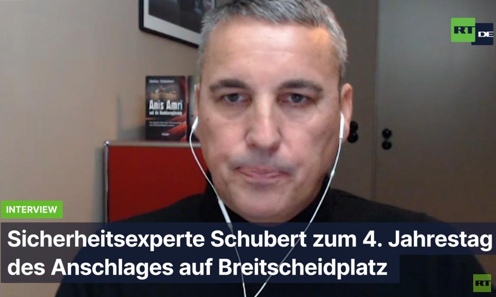 "Experte Stefan Schubert zum Breitscheidplatz-Anschlag: ""Bundesregierung sabotiert Aufklärung"""