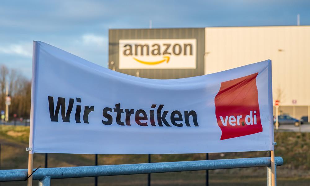 """""""Arbeitshetze"""" trotz Milliardengewinne – Streik an sechs Amazon-Standorten in Deutschland"""