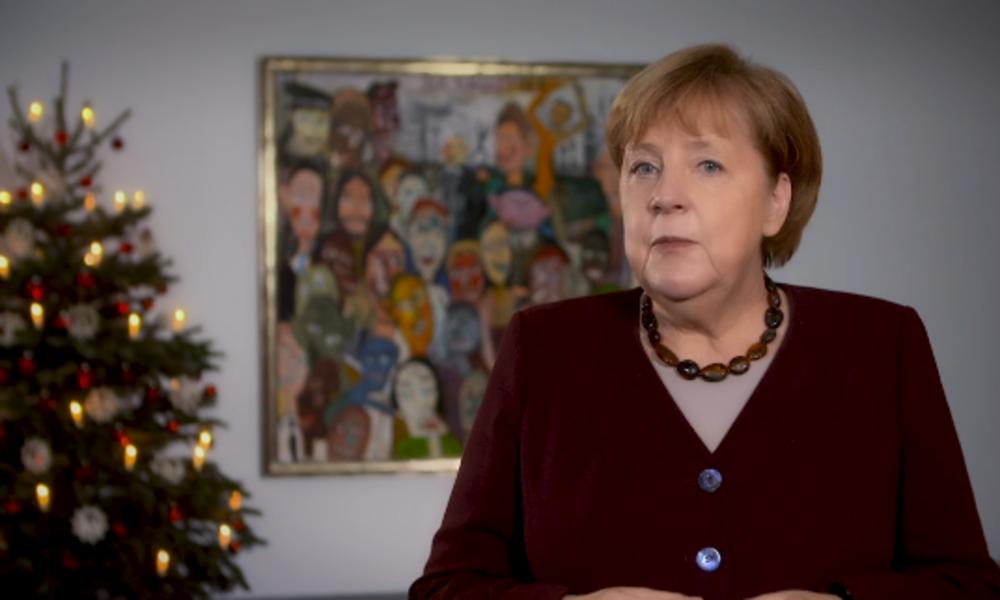 """Merkels Weihnachtspodcast: Soldaten im Ausland """"sind Botschafter für Freiheit und Demokratie"""""""