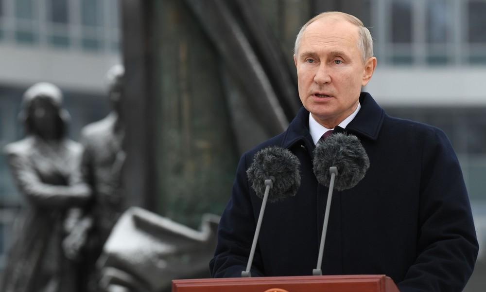 Putin: Russland muss seine Grenzen angesichts der Risiken schwelender regionaler Konflikte schützen