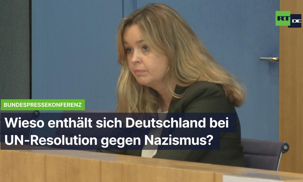 Wieso enthält sich Deutschland bei UN-Resolution gegen Nazi-Glorifizierung?