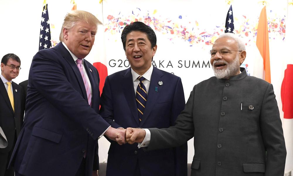 Trump verleiht Verdienstorden an Modi, Abe und Morrison zu Ehren der Anti-China-Allianz