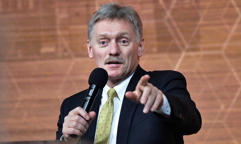 Kremlsprecher Dmitri Peskow über Alexei Nawalny: Der Patient leidet an Größen- und Verfolgungswahn