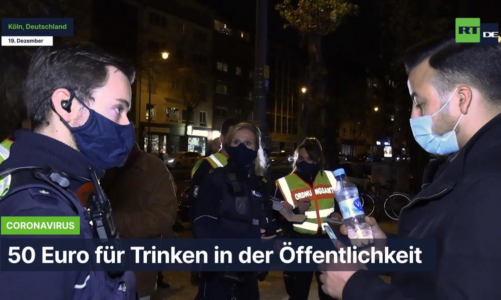 Corona-Schutzregeln: NRW-Innenminister Herbert Reul auf Streife mit Kölner Ordnungshütern