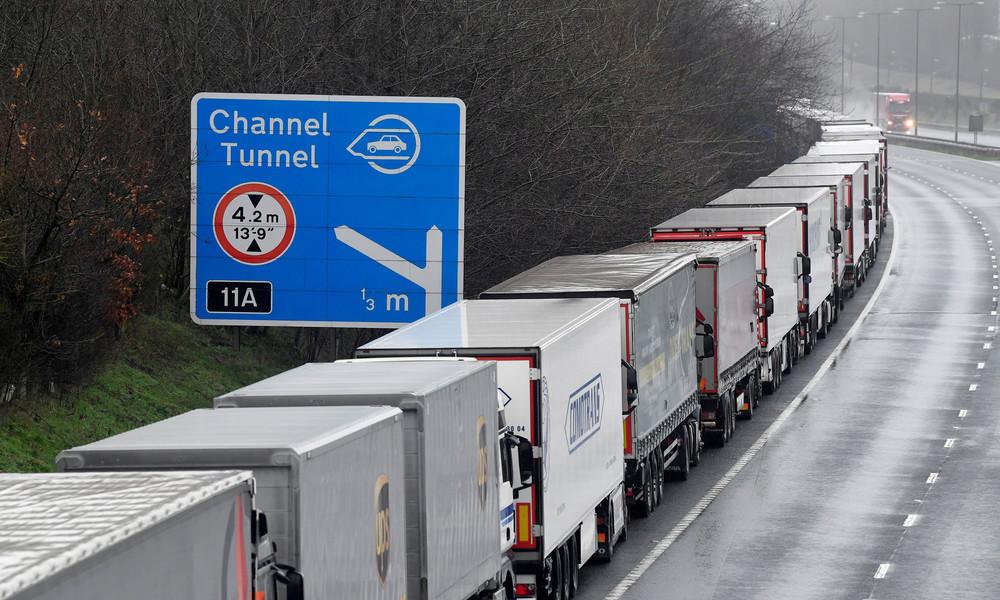 Coronavirus-Mutation in Großbritannien führt zur Einstellung des Gütertransports über Ärmelkanal