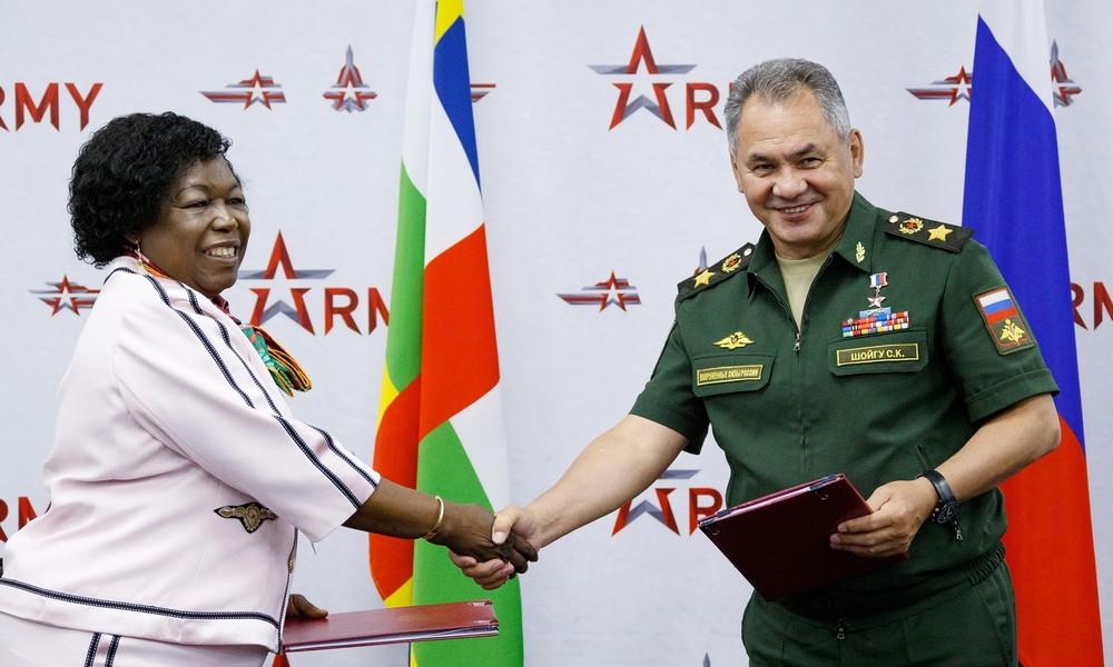 Russland schickt 300 Militärberater in die Zentralafrikanische Republik