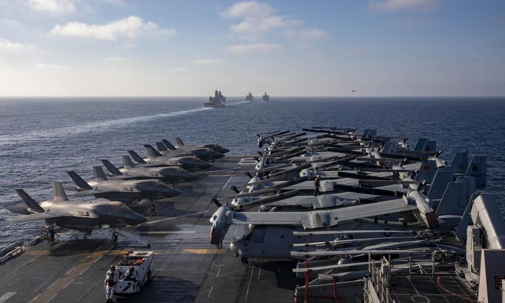 USA verlegen Flugzeugträger-Gruppe nach Somalia und Hunderte Soldaten in andere Teile Ostafrikas