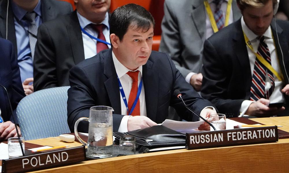 """""""Schade, dass Sie endlich gehen"""" – Russischer UN-Vertreter geht deutschen Botschafter persönlich an"""