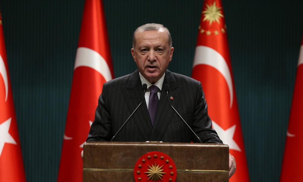 Erdoğan hofft auf bessere Beziehungen zu den USA und der EU