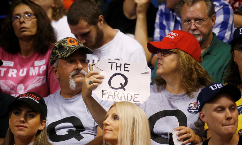 US-Politik-Magazin: Trump wendet sich immer mehr QAnon-Bewegung zu