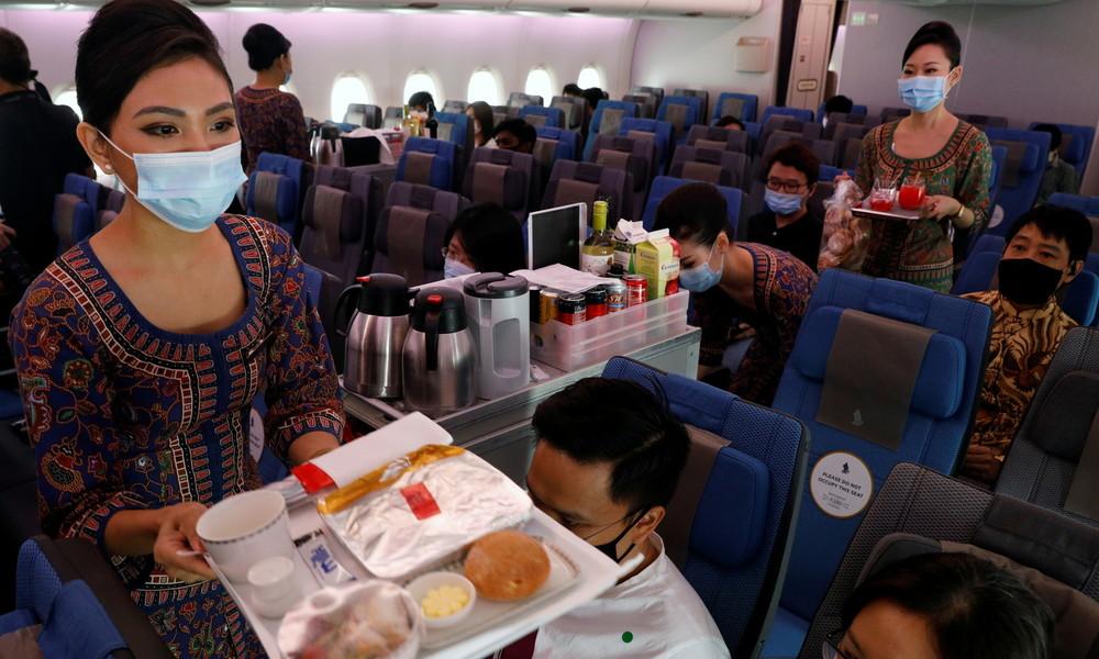 """""""Neue Normalität"""": Singapore Airlines führt digitalen Gesundheitsausweis ein"""