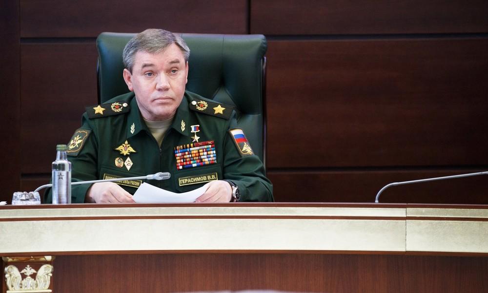 Russischer Generalstabschef nennt Risikofaktoren für einen Atomschlag