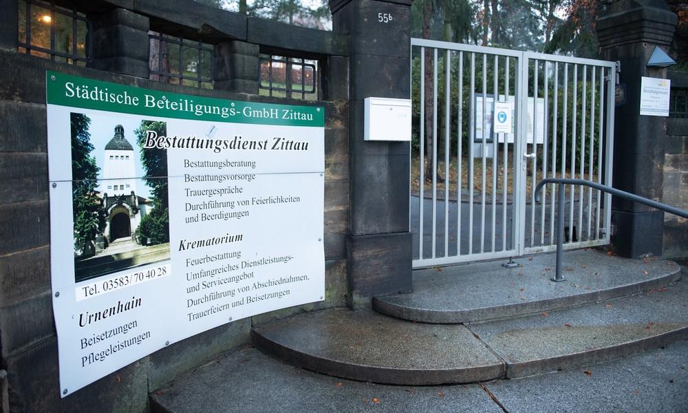 Sonderschichten für anfallende Sterbefälle: Überfülltes Krematorium im Corona-Hotspot Zittau