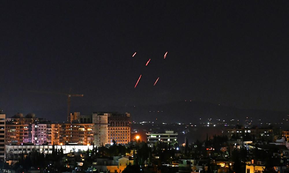 """""""Größtenteils abgewehrt"""": Israel greift erneut Ziele in Syrien an"""