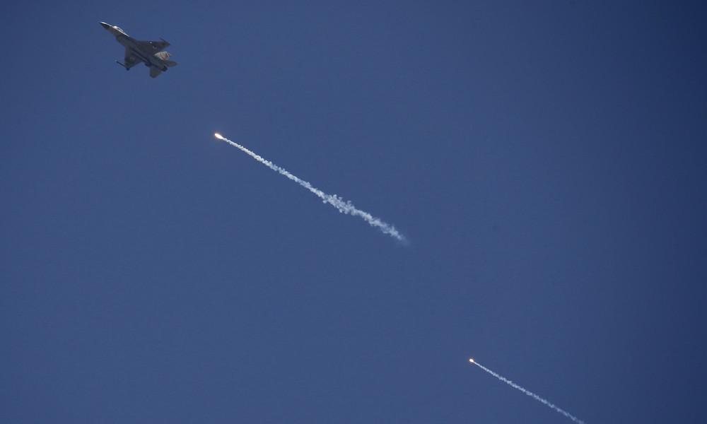 Israelische Luftstreitkräfte fliegen Angriffe gegen Hamas-Ziele im Gazastreifen