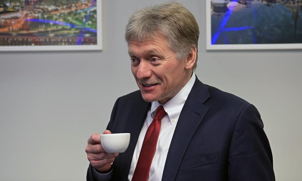 Kremlsprecher Peskow vergleicht US-Sanktionen gegen Nord Stream 2 mit Cowboy-Überfall
