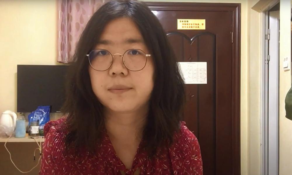 China: Journalistin muss nach Berichten aus Wuhan für vier Jahre in Haft