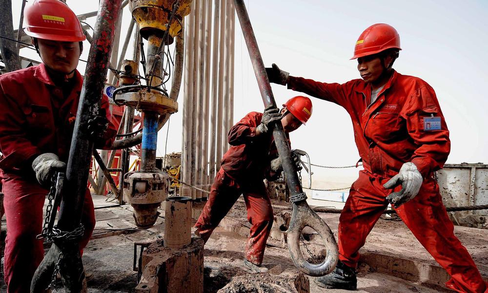 Chinas größtes Öl- und Erdgasbecken erreicht Rekordfördermenge