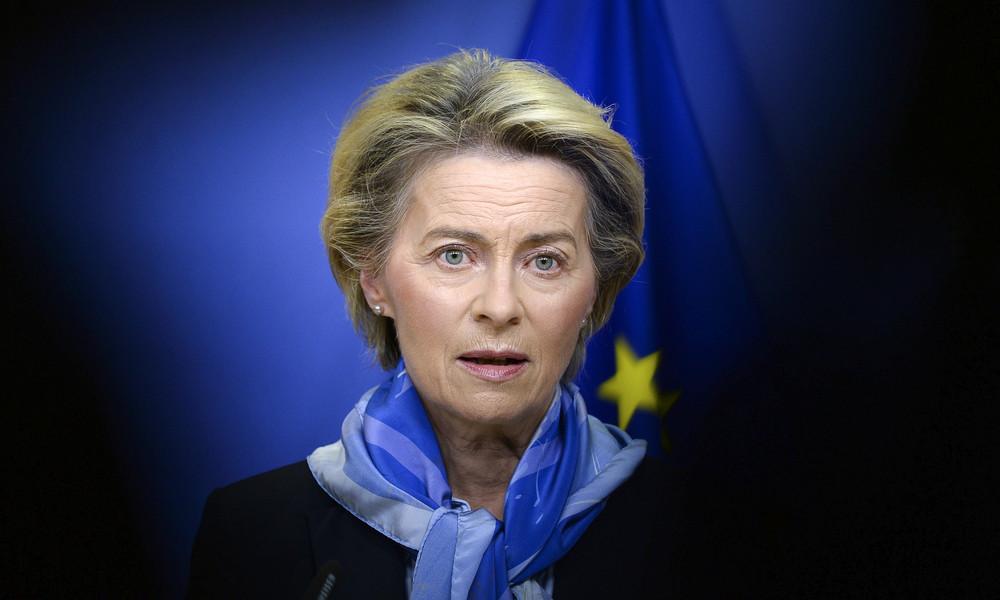 """EU-Kommissionspräsidentin von der Leyen lobt """"einzigartiges Impf-Monitoring"""""""