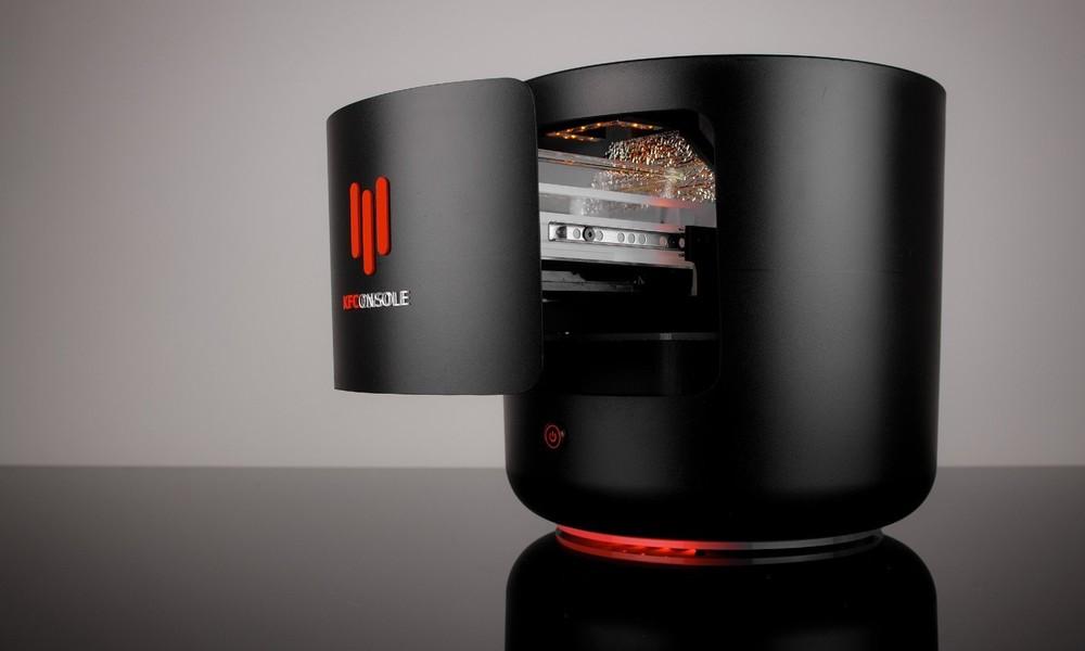 KFC stellt Spielekonsole mit eingebauter Hähnchen-Warmhaltekammer vor