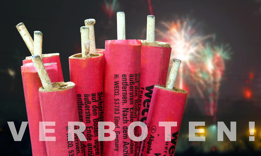 Polizei greift gegen verbotenen Verkauf von Feuerwerk durch