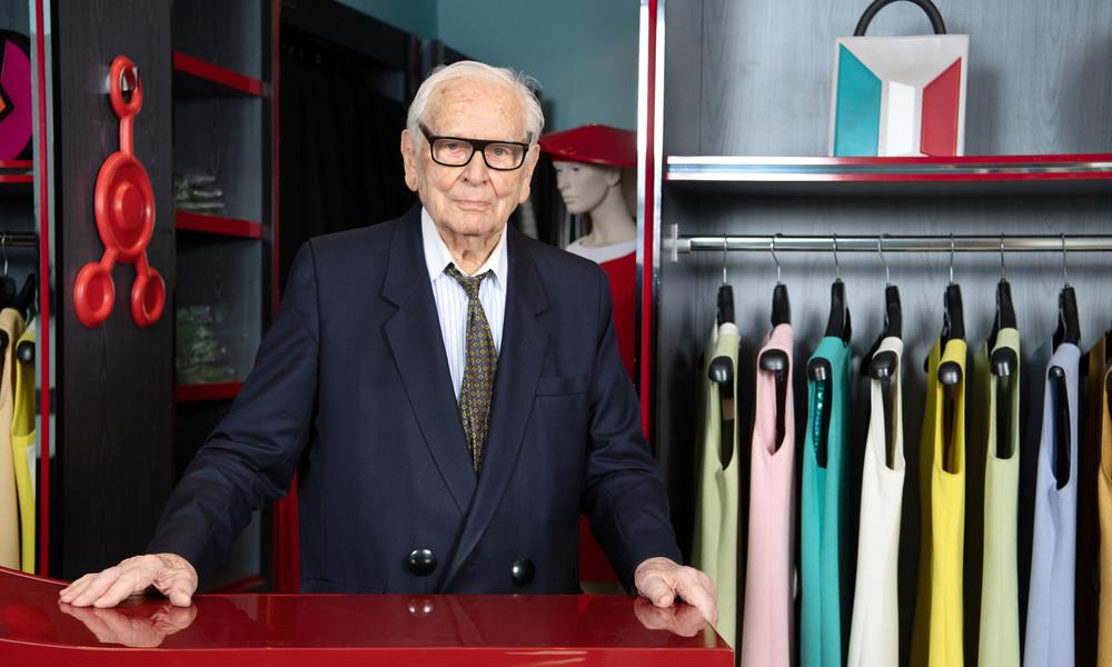 Modeschöpfer Pierre Cardin im Alter von 98 Jahren gestorben
