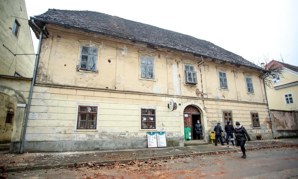 LIVE aus Petrinja in Kroatien nach Erdbeben der Stärke 6,3
