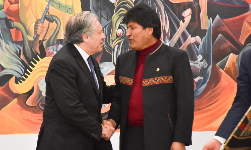 OAS-Generalsekretär – ein Putsch-Unterstützer? Mercosur-Parlament will Untersuchung einleiten