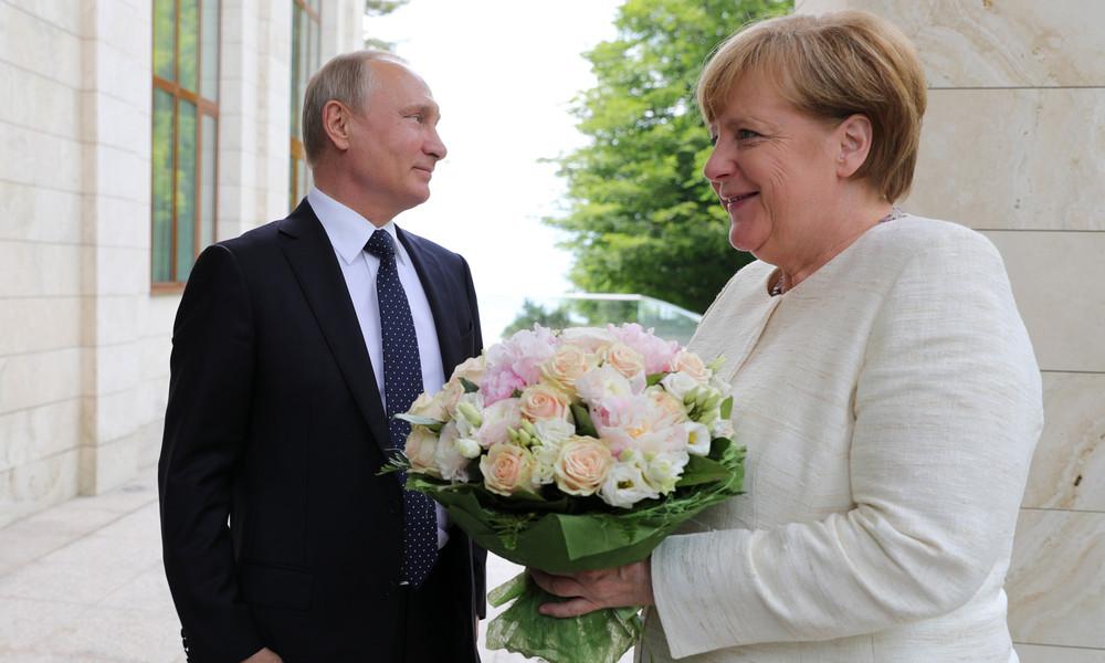 Putin gratuliert Merkel zu Silvester: Hoffnung auf Zusammenarbeit in 2021