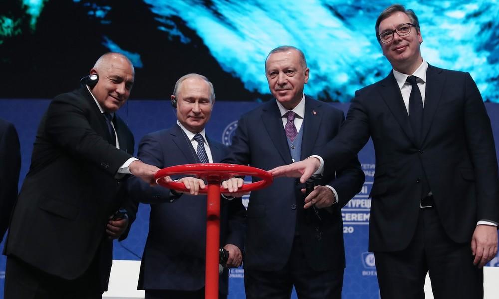 Gazprom startet mit TurkStream Gaslieferung nach Serbien und Bosnien