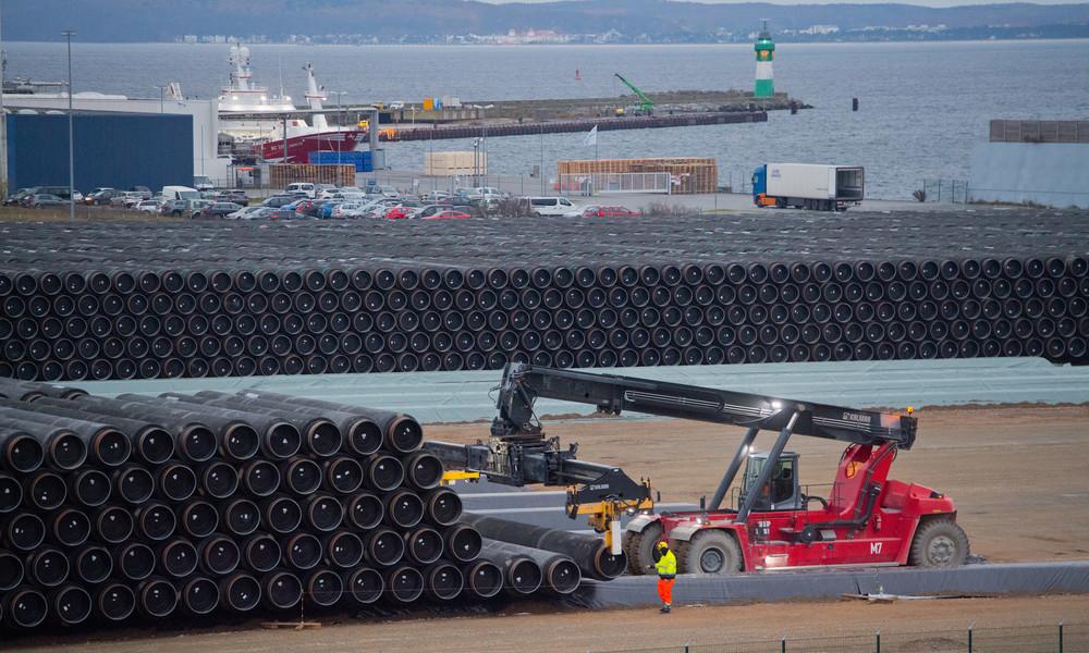 Wegen US-Sanktionen: Klassifikationsgesellschaft DNV GL lehnt Zertifizierung von Nord Stream 2 ab
