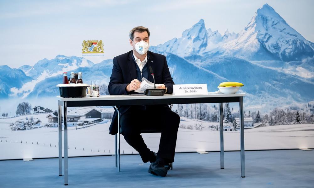 Markus Söder plädiert für Verlängerung des Lockdowns bis Ende Januar